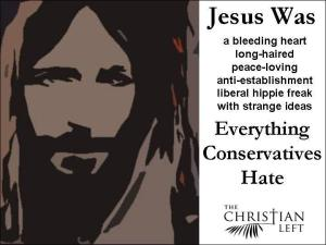 Jesus Bleeding Heart Liberal